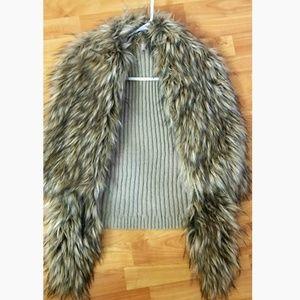 Victoria Secret fur vest